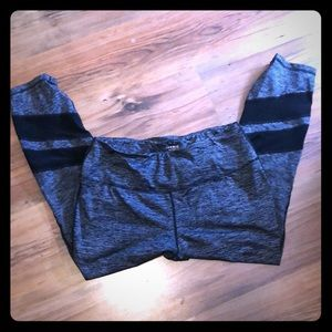 Torrid Active Pants Size 1/1X Black and Gray